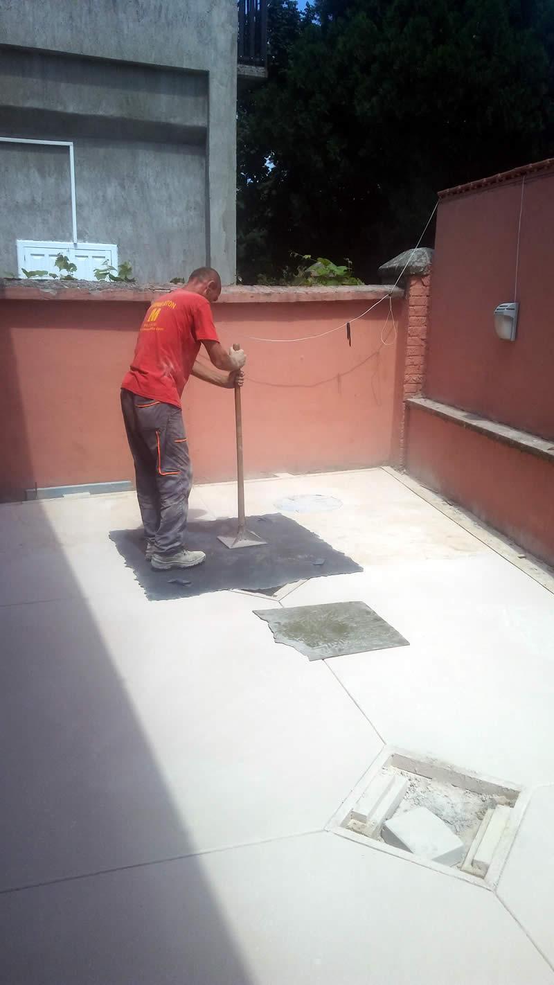 MV štampani beton 2018, završni radovi