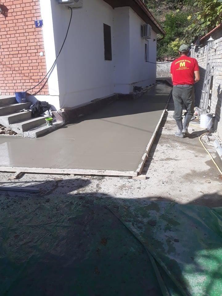 MV štampani beton Novi Sad 2019