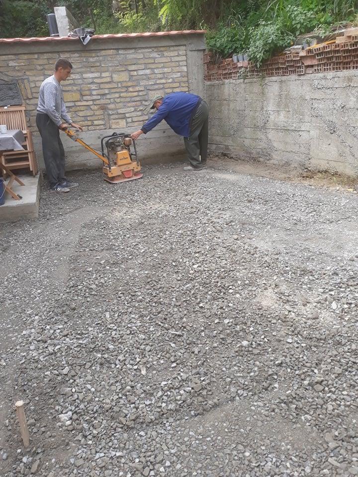MV štampani beton - izrada štampanog betona - Novi Sad 2019.