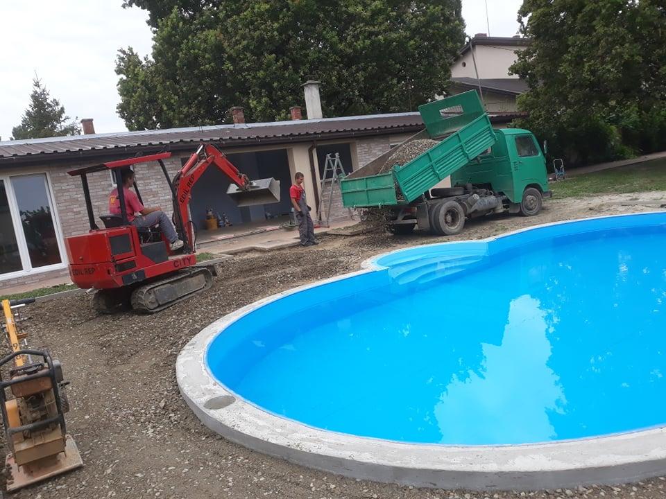 MV štampani beton - priprema terena za izradu štampanog betona - Novi Sad 1029.