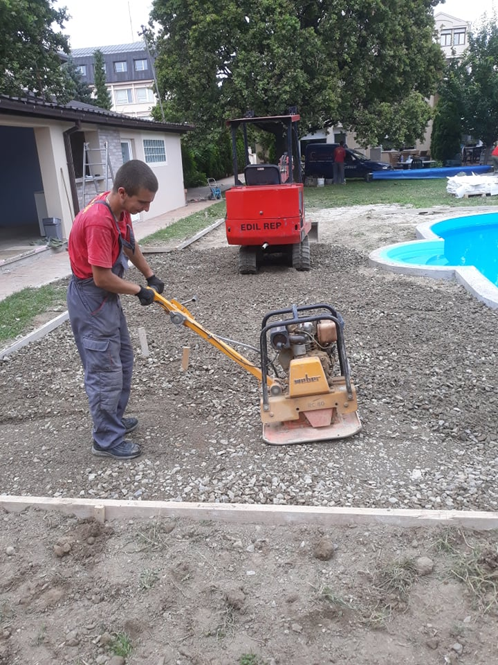 VM štamani beton - priprema terena - Novi Sad 2019.